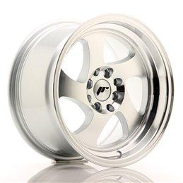 JR Wheels JR15 15x8 ET20 4x100/108 Argent Face Polie