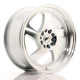 JR Wheels JR15 17x8 ET35 5x100/114.3 Argent Face Polie