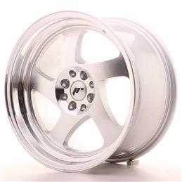 JR Wheels JR15 17x9 ET25 4x100/108 Argent Face Polie