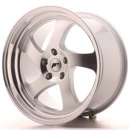 JR Wheels JR15 19x10 ET35 5x100 Argent Face Polie