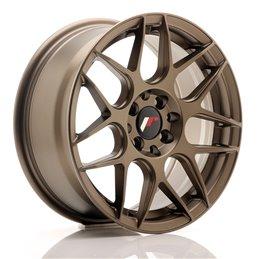 JR Wheels JR18 16x7 ET35 4x100/114.3 Bronze Mat