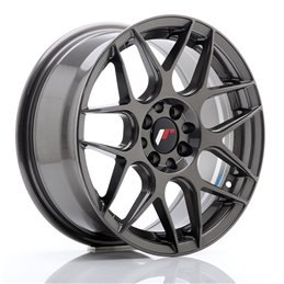 JR Wheels JR18 16x7 ET25 4x100/108 Hyper Gray