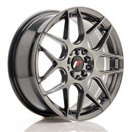 JR Wheels JR18 17x7 ET40 4x100/114.3 Hyper Black
