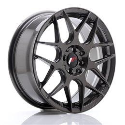 JR Wheels JR18 17x7 ET40 4x100/114.3 Hyper Gray