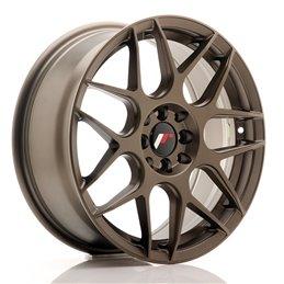 JR Wheels JR18 17x7 ET40 4x100/114.3 Bronze Mat