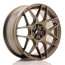 JR Wheels JR18 17x7 ET40 5x100/114.3 Bronze Mat