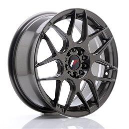 JR Wheels JR18 17x7 ET40 4x100/108 Hyper Gray
