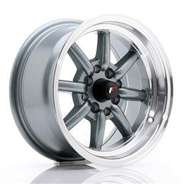 JR Wheels JR19 14x7 ET0 4x100/114.3 Gun Metal / Bord Poli