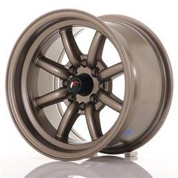 JR Wheels JR19 14x8 ET-13 4x100/114.3 Bronze Mat