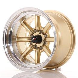 JR Wheels JR19 14x9 ET-25 4x100/114.3 Or / Bord Poli