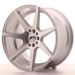 JR Wheels JR20 18x9.5 ET35 5x100/120 Argent Face Polie