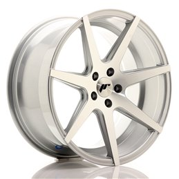 JR Wheels JR20 19x9.5 ET35 5x112 Argent Face Polie