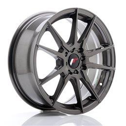 JR Wheels JR21 17x7 ET40 4x100/114.3 Hyper Gray