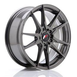 JR Wheels JR21 17x7 ET40 5x100/114.3 Hyper Gray