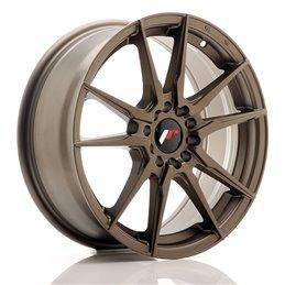 JR Wheels JR21 17x7 ET40 5x100/114.3 Bronze Mat
