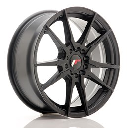 JR Wheels JR21 17x7 ET40 5x108/112 Noir Mat