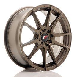 JR Wheels JR21 17x7 ET25 4x100/108 Bronze Mat