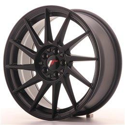 JR Wheels JR22 17x7 ET35 4x100/114.3 Noir Mat