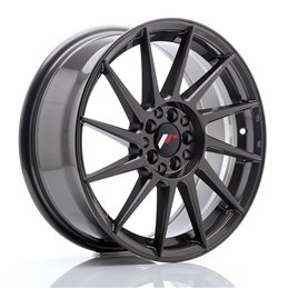 JR Wheels JR22 17x7 ET35 4x100/114.3 Hyper Gray