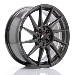 JR Wheels JR22 17x7 ET25 4x100/108 Hyper Gray