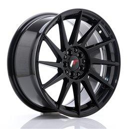 JR Wheels JR22 17x8 ET35 5x100/114.3 Noir Brillant
