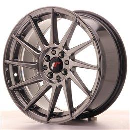 JR Wheels JR22 17x8 ET35 5x100/114.3 Hyper Black