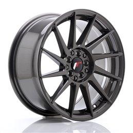 JR Wheels JR22 17x8 ET35 5x100/114.3 Hyper Gray