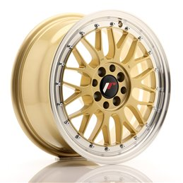 JR Wheels JR23 16x7 ET40 4x100/114.3 Or / Bord Poli