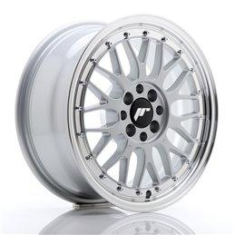 JR Wheels JR23 16x7 ET40 4x100/114.3 Hyper Silver / Bord Poli