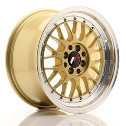 JR Wheels JR23 16x8 ET20 4x100/108 Or / Bord Poli