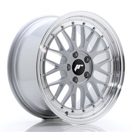 JR Wheels JR23 17x8 ET20 5x120 Hyper Silver / Bord Poli