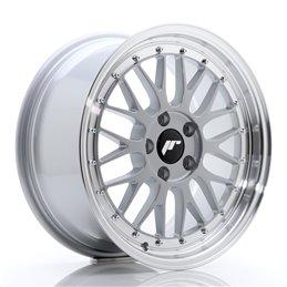 JR Wheels JR23 17x8 ET40 5x120 Hyper Silver / Bord Poli