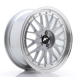 JR Wheels JR23 18x8 ET35 5x100 Hyper Silver / Bord Poli