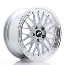JR Wheels JR23 18x8.5 ET25 5x120 Hyper Silver / Bord Poli