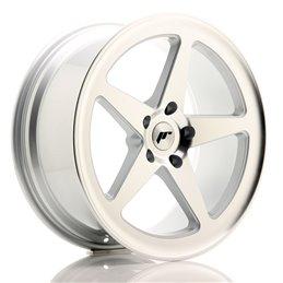 JR Wheels JR24 19x8.5 ET35 5x120 Argent Face Polie