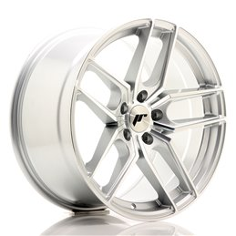 JR Wheels JR25 18x9.5 ET40 5x112 Argent Face Polie