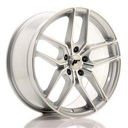 JR Wheels JR25 19x8.5 ET35 5x120 Argent Face Polie