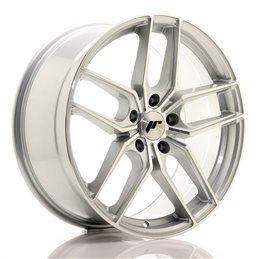 JR Wheels JR25 19x8.5 ET40 5x112 Argent Face Polie