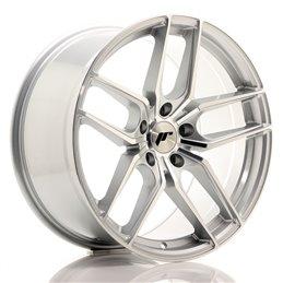 JR Wheels JR25 19x9.5 ET35 5x120 Argent Face Polie