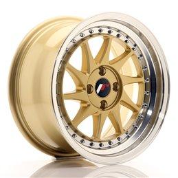 JR Wheels JR26 16x8 ET30 4x100 Or / Bord Poli
