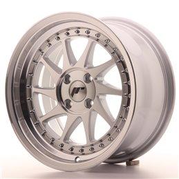 JR Wheels JR26 16x8 ET30 4x100 Argent Face Polie