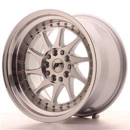 JR Wheels JR26 17x10 ET20 5x114.3/120 Argent Face Polie