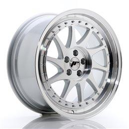 JR Wheels JR26 18x8.5 ET35 5x100 Argent Face Polie