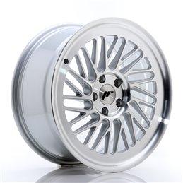 JR Wheels JR27 18x8.5 ET40 5x112 Argent Face Polie