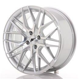 JR Wheels JR28 17x8 ET40 4x100 Argent Face Polie