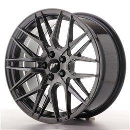 JR Wheels JR28 17x8 ET40 5x114.3 Hyper Black