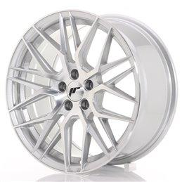 JR Wheels JR28 17x8 ET40 5x112 Argent Face Polie