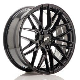 JR Wheels JR28 18x7.5 ET40 5x112 Noir Brillant