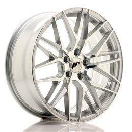 JR Wheels JR28 18x7.5 ET40 5x112 Argent Face Polie