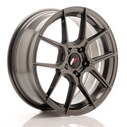 JR Wheels JR30 17x7 ET40 5x100 Hyper Gray